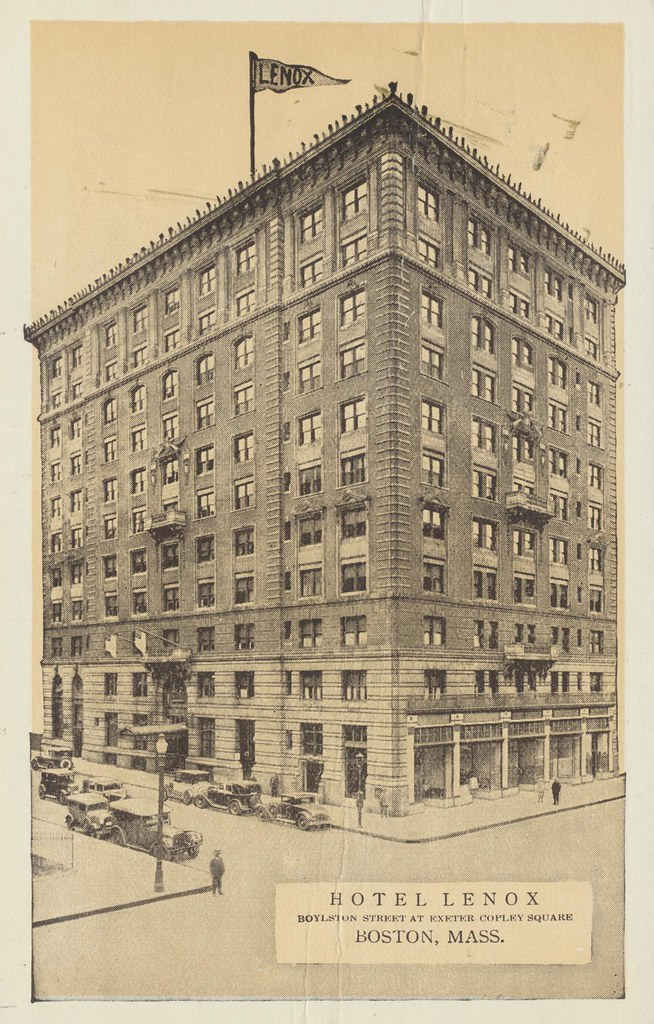 Hotel Lenox - Boston, Massachusetts
