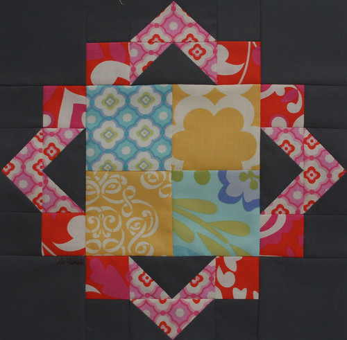 Cathedral Square block (from Quiltmaker's 100 Blocks issue) | by freshlypieced