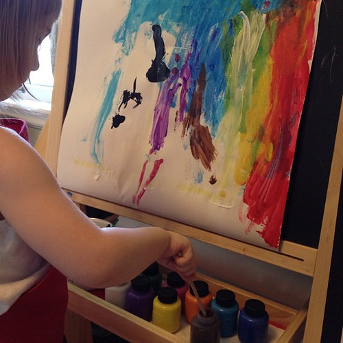"""I'm going to be an architect."" (You mean ""painter?"") 