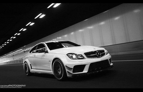 2012 mercedes benz c63 amg black series by coconut photography