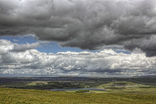 Dark Clouds over Malham Tarn | by dlawuk