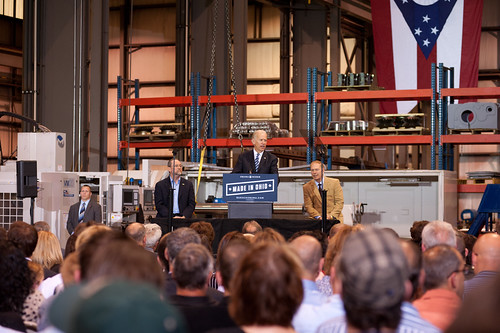 Joe Biden in Youngstown - May 16th | by Barack Obama