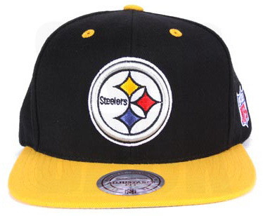 fc2094482ae ... Pittsburgh Steelers Snapbacks Hat Mitchell Ness NFL 2T XL-LOGO Adjustable  Caps Black-Gold