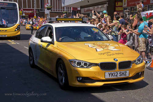 OLYMPIC FLAME PASSES THROUGH BRIDGEND. | by IMAGES OF WALES.... (TIMWOOD)