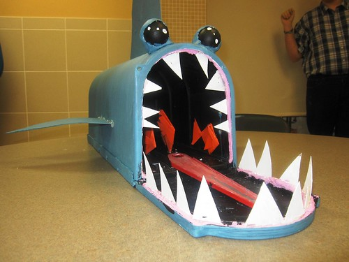 shark mailbox by madison peyton austin andrew new tec flickr. Black Bedroom Furniture Sets. Home Design Ideas