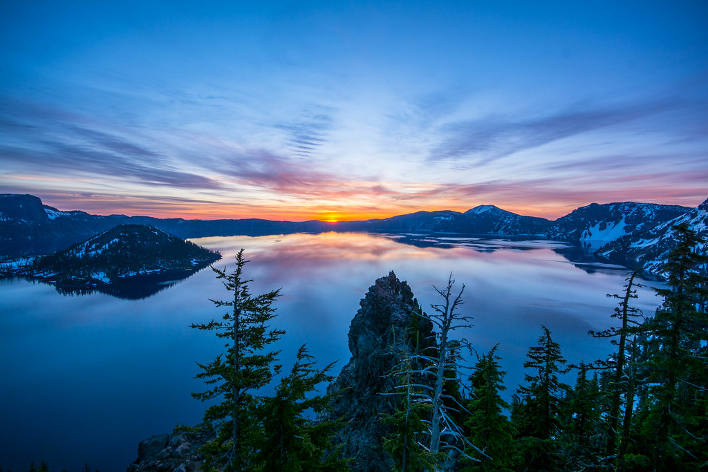 Oregon Weekend - Crater Lake to the Wallowas, early May 2016