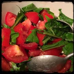 #PlumTomato #chicory #salad   #Homemade #CucinaDelloZio -