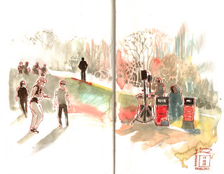 Djs palying in them Park | by omar.paint