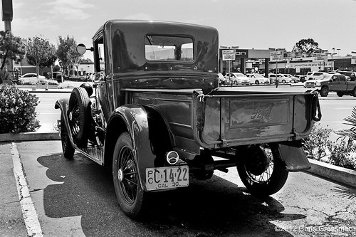 1930 Model A Ford Pick-up Truck - Nikon N55 - AF Nikkor 28-80mm F/3.3-5.8 G - TMAX 400 | by divewizard