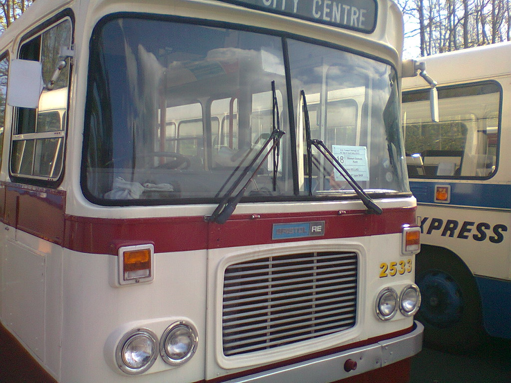 ... Citybus Belfast Bristol RE 2533 AXI 2533 | by belfast citybus