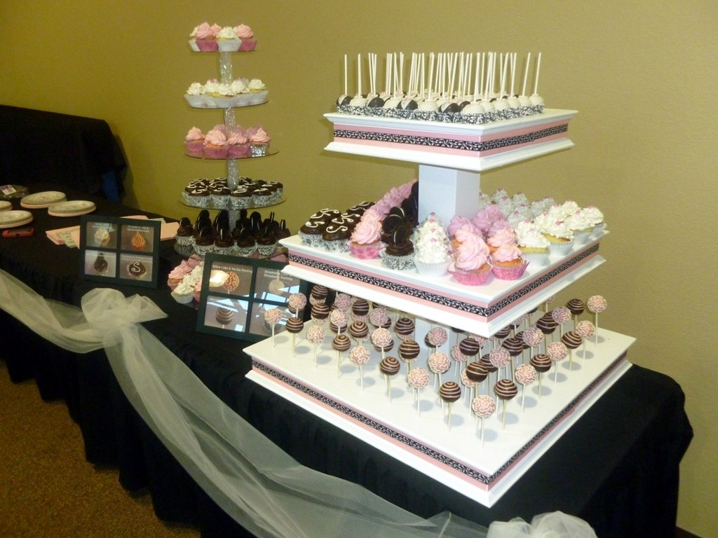 wedding cake pop display celebrate your day with a beautif flickr
