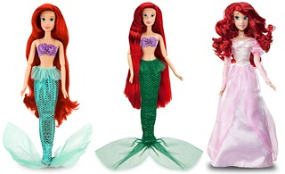 Ariel (The Little Mermaid) Singing Dolls 2010-2012 | by drj1828