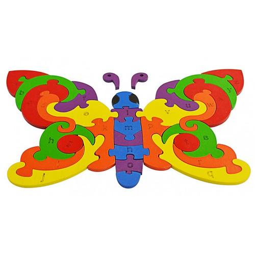 Đồ chơi gỗ lắp ghép con bướm