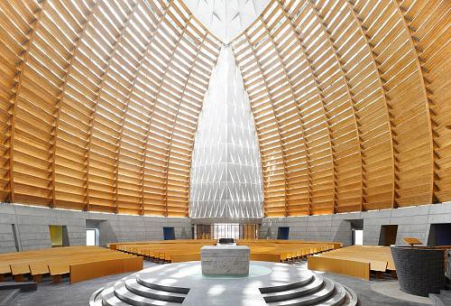 ... Modern Church Interior Design | By Jeffrey Tong Photography