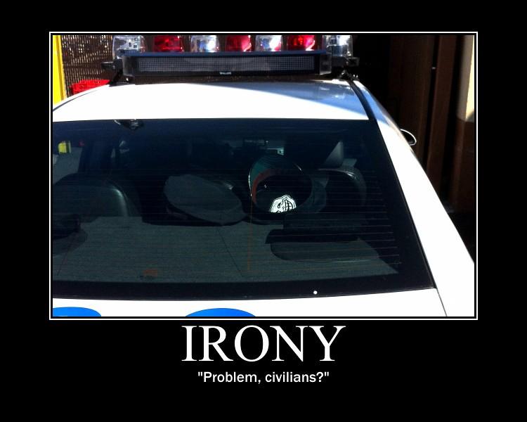 Troll Face Problem Officer