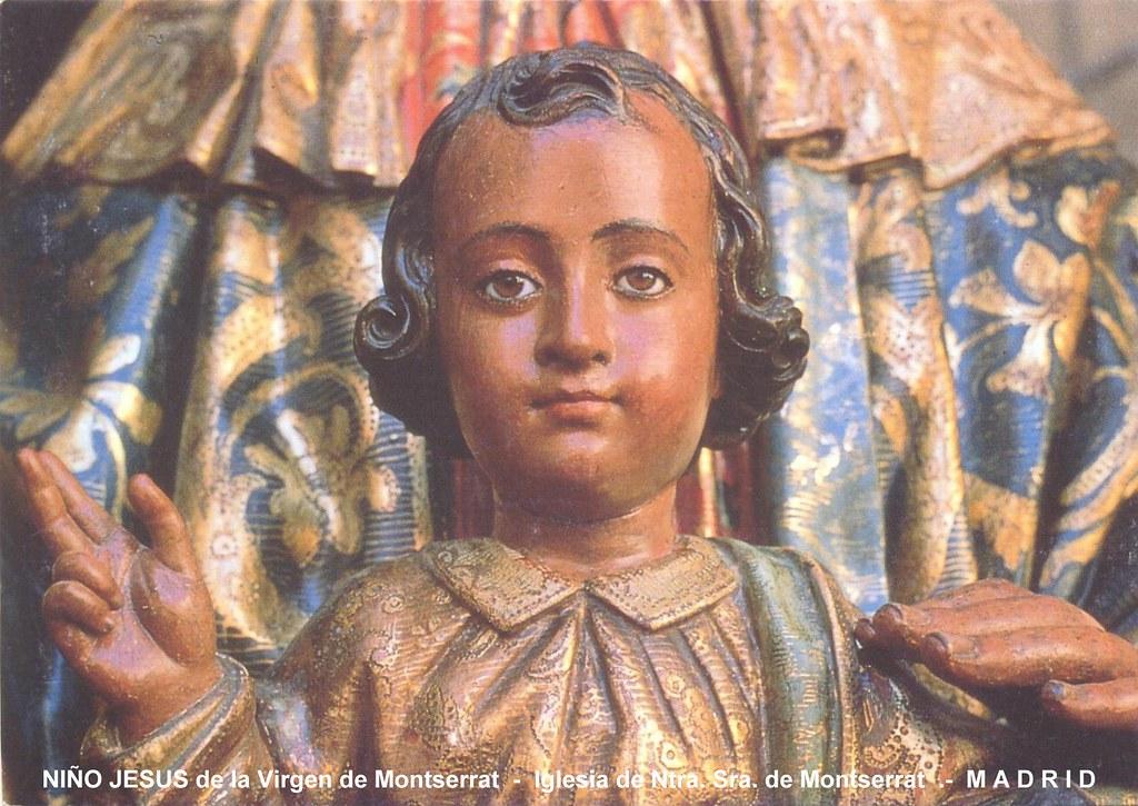 Niño Jesus De La Virgen De Montserrat Madrid Francisco González