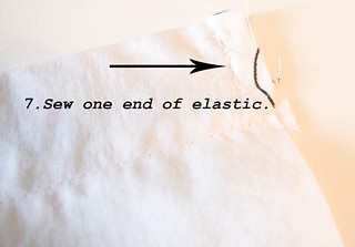 Step-7-sew-elastic | by Cara.Mia