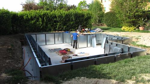 07 pannelli interni cantiere bs cantiere costruzione for Piscine laghetto per pesci