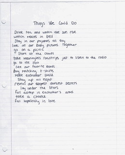 Things We Could Do | by driftedtothesea