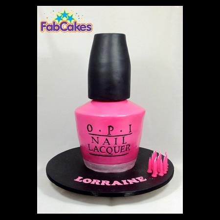3d Cake Nail Art : Nailpolish 3d Cake Sweet Sixteen today.... Nailpolish 3d ...