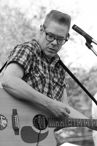 Roy Sludge Trio @ Lexington Battle Green BBQ Festival 5.19.2012 | by johnny anguish