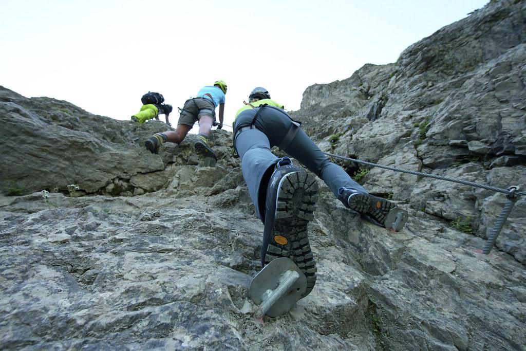 Klettersteig Oberjoch : Salewa klettersteig oberjoch seconds bergsport