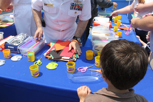 Building a boat with Play Doh and other supplies | by jen_rab
