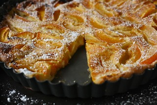 Apricot Clafouti | by honey drizzle