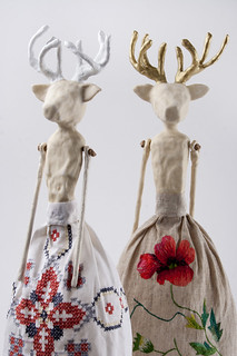 Clay Lady Deers | by Orka & Avuonas