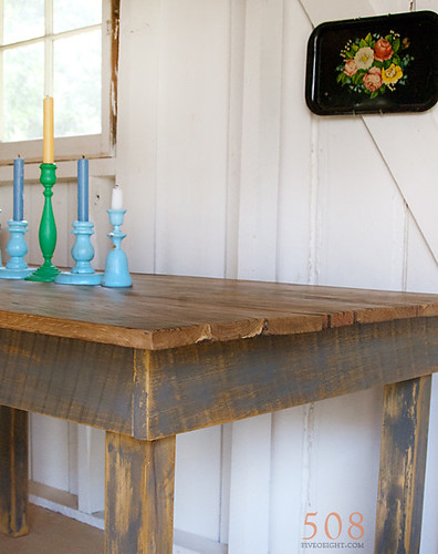 No. 40 {barnwood table} | by 508 Restoration & Design
