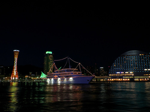 KOBE Dinner cruise ship - CONCERTO | by canue Glazner