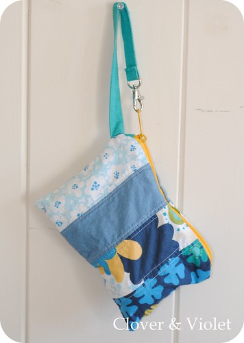 Snack or Toy Pouch {tutorial} | by Clover & Violet