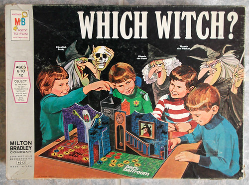 1971 Milton Bradley Which Witch? Board Game | by gregg_koenig