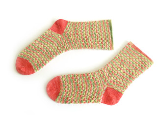 confetti socks by mimi hill for eskimimi makes | by Eskimimi