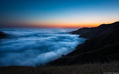 Rolling Fog in Big Sur | by Eric Hines Photography