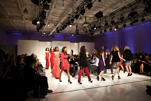 How to get into a New York fashion show - m 46