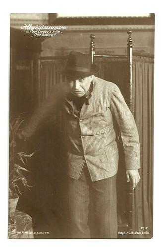 Albert Bassermann in Der Andere