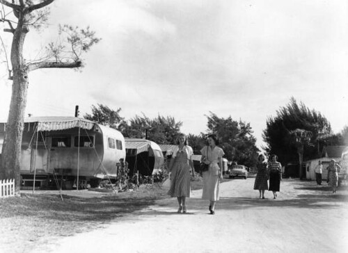 View of the Sarasota Trailer Park: Sarasota, Florida | by State Library and Archives of Florida