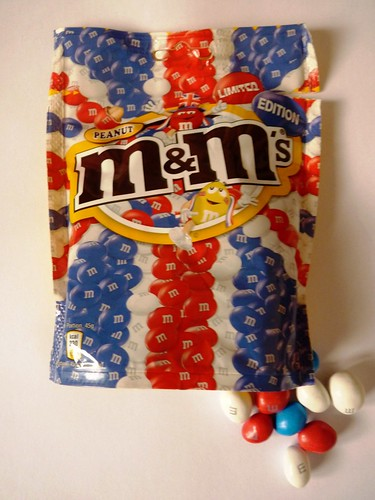 Queen's Jubilee Limited Edition Peanut M&M's Sweets Willingham May 2012 | by symonmreynolds