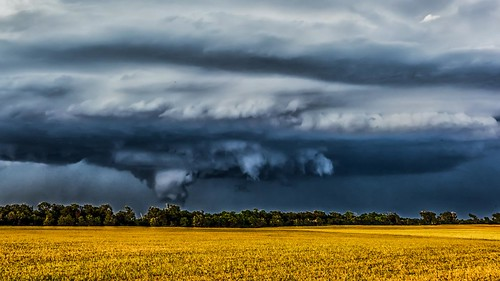 threatening looking clouds | by Marvin Bredel