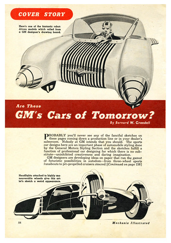 Are These GM's Cars of Tomorrow? | by paul.malon