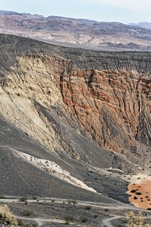Tin Mountain Fault Exposed at Ubehebe Crater. | by Ron Wolf