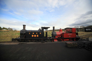 Steam Double Header at Rowley Station | by Beamish Museum