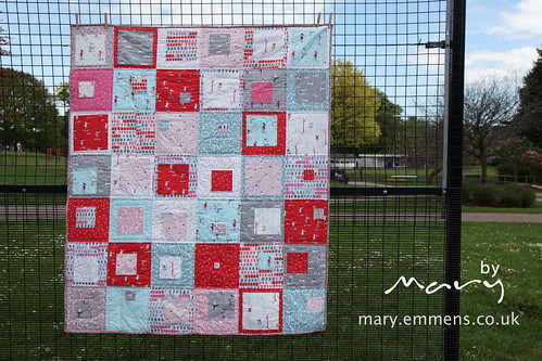 Sherbet Pips finished quilt | by Mary-and-Tobit