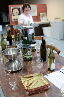 May 28th - Wine Tasting in St Romaine - Great Bread Sticks | by The Hungry Cyclist