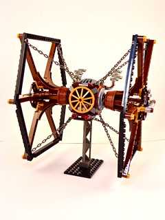 Steampunk TIE Fighter | by Steadibrick