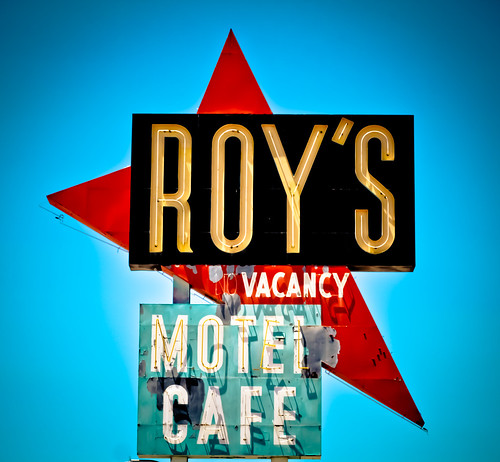 Roy's Motel and Cafe (Route 66) | by TooMuchFire