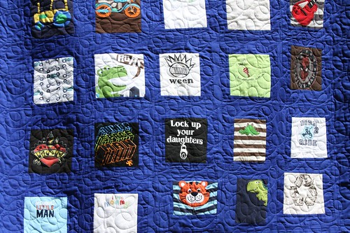 Custom Memory Baby Quilt for Corwin | by Mamaka Mills Quilts