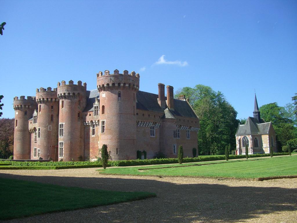 Cote De Villebon château de villebon (xive), eure-et-loir (28) | « le côté de… | flickr