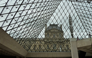 Looking out of Le Louvre | by In my hands they crumble
